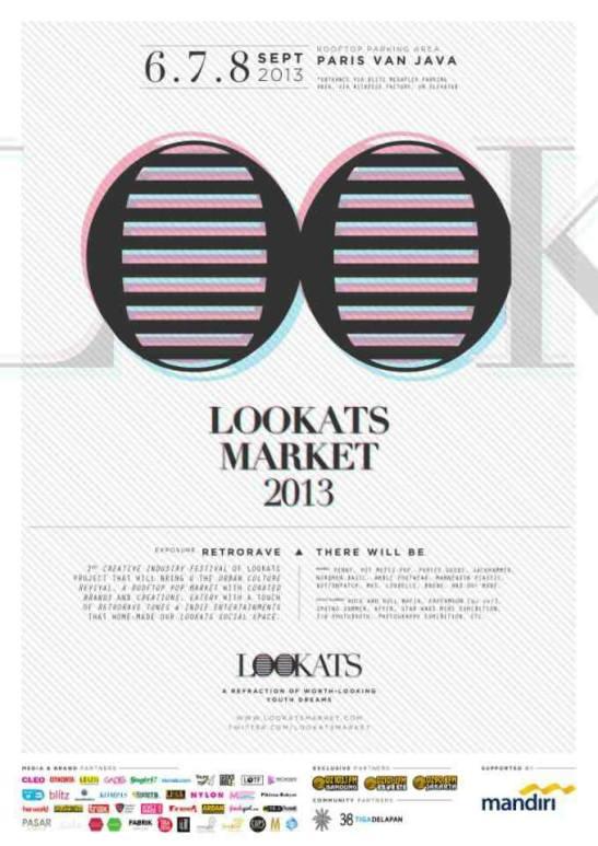 Lookats Market 2013 plakat