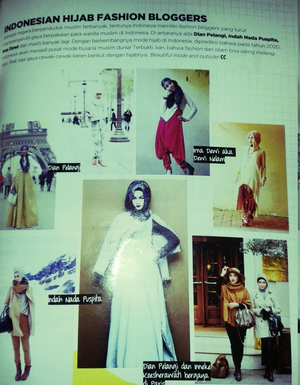 artykuł o Indonezyjskich blogerkach noszących hijab
